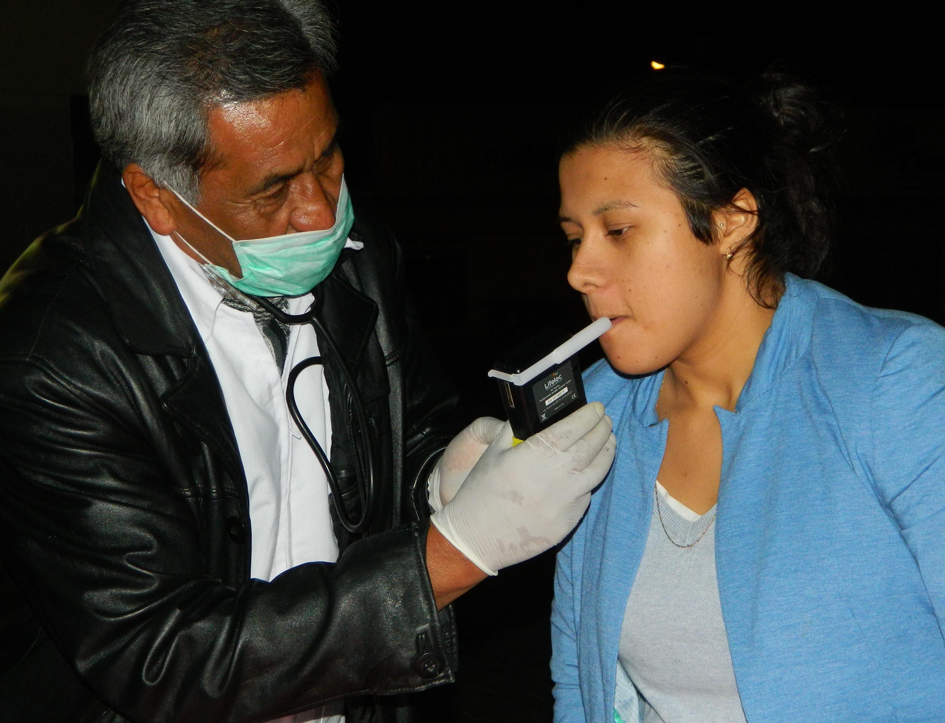 Operativos Alcoholímetro siguen arrojando buenos resultados en Cuautlancingo