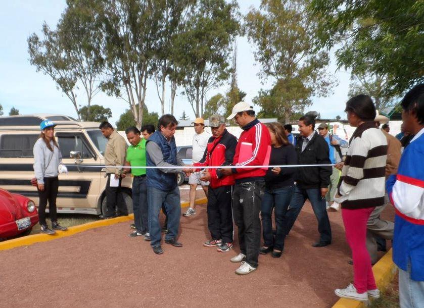 Invierte el ayuntamiento de Tepeaca en infraestructura deportiva