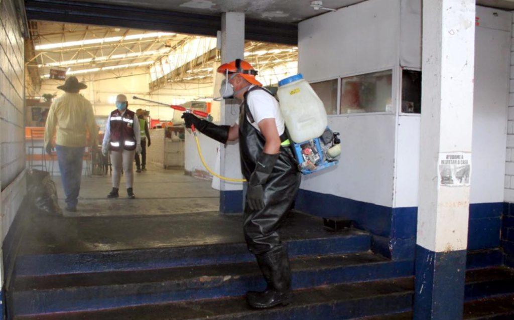 OOSL continúa Limpieza Preventiva en mercados y colonias populares
