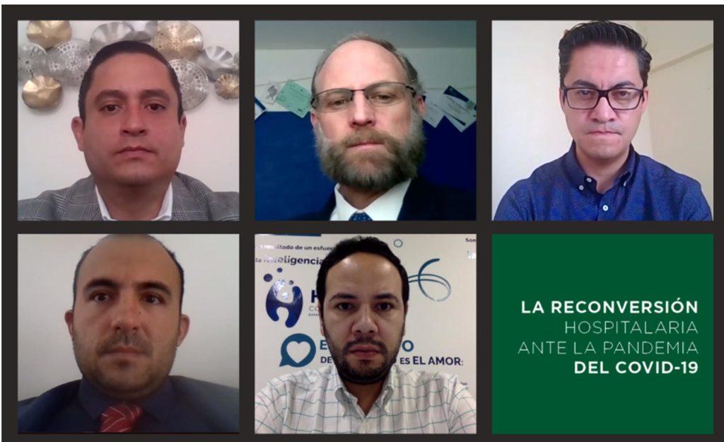 Académicos UDLAP analizan la conversión hospitalaria en México durante la pandemia del COVID-19