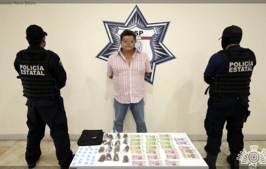 Cae presunto líder criminal del mercado La Acocota