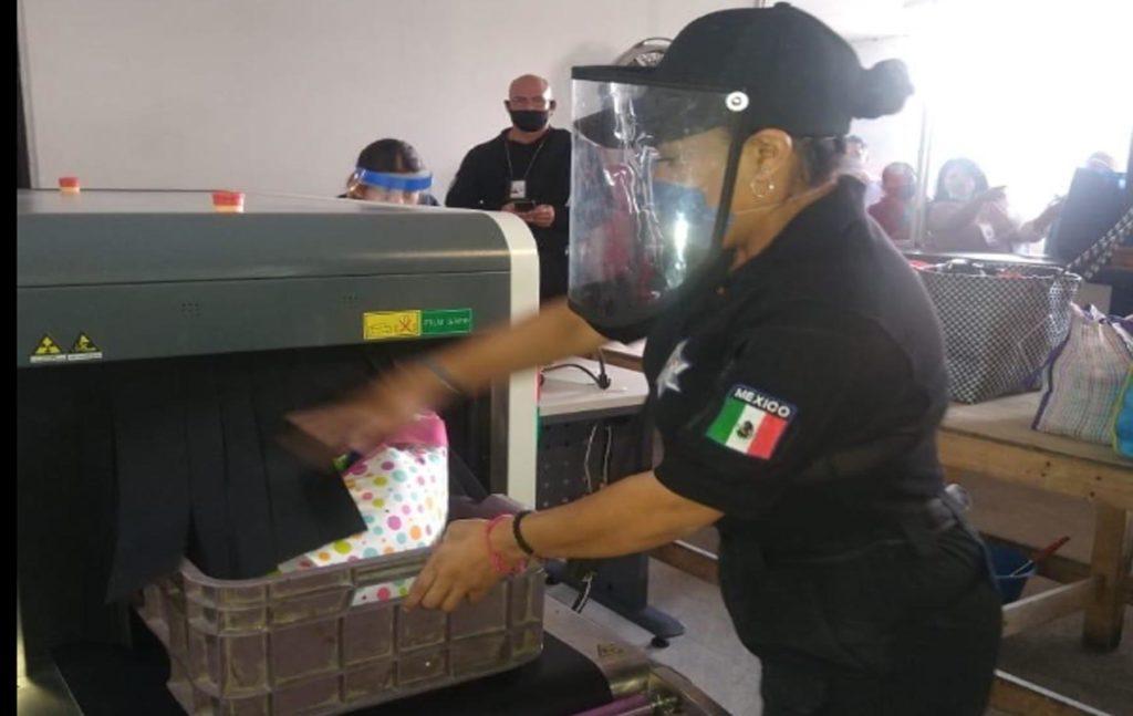Instala SSP banda de rayos X en el Cereso de San Miguel