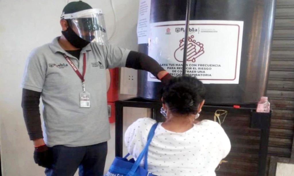Colocan 42 lavamanos en mercados del municipio