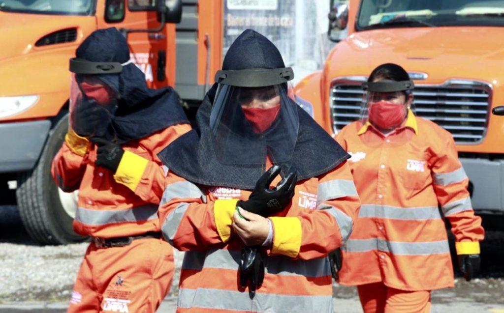 Dignifican y honran la labor del personal de limpia durante la pandemia