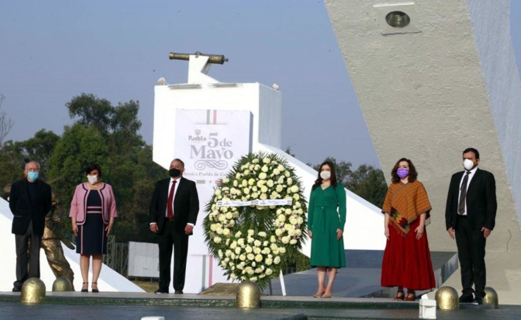 Conmemoran 158 años de la batalla del 5 de Mayo