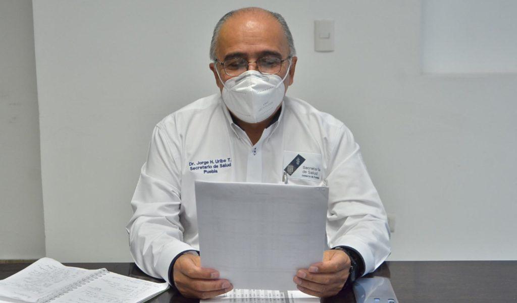 El número de casos por COVID-19 en Puebla es de 2 mil 314; los fallecimientos ascienden a 419