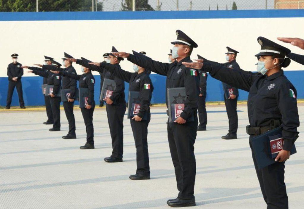 Cuerpo policial municipal se fortalece con nuevos elementos
