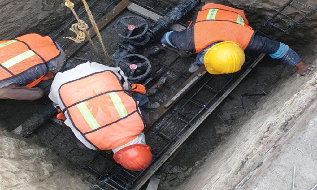 Para mejorar el abasto a más de 5 mil habitantes de la ciudad, Agua de Puebla interconectará la Línea del Pozo Valsequillo a la Línea de Conducción del Acuaférico