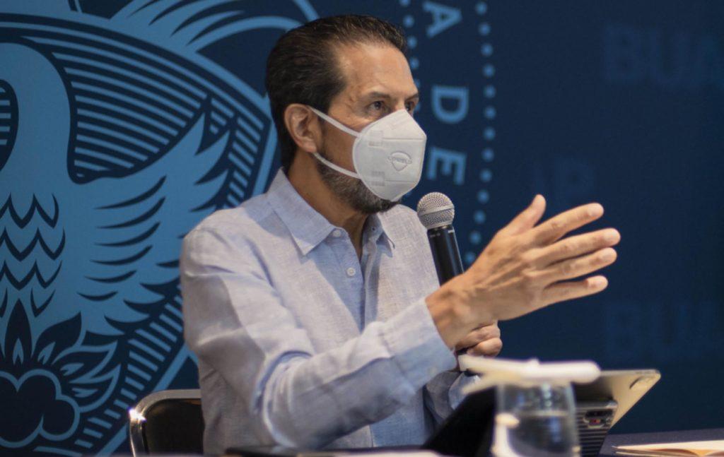 No es momento de acrecentar batallas; es momento de atender la emergencia sanitaria: Alfonso Esparza Ortiz