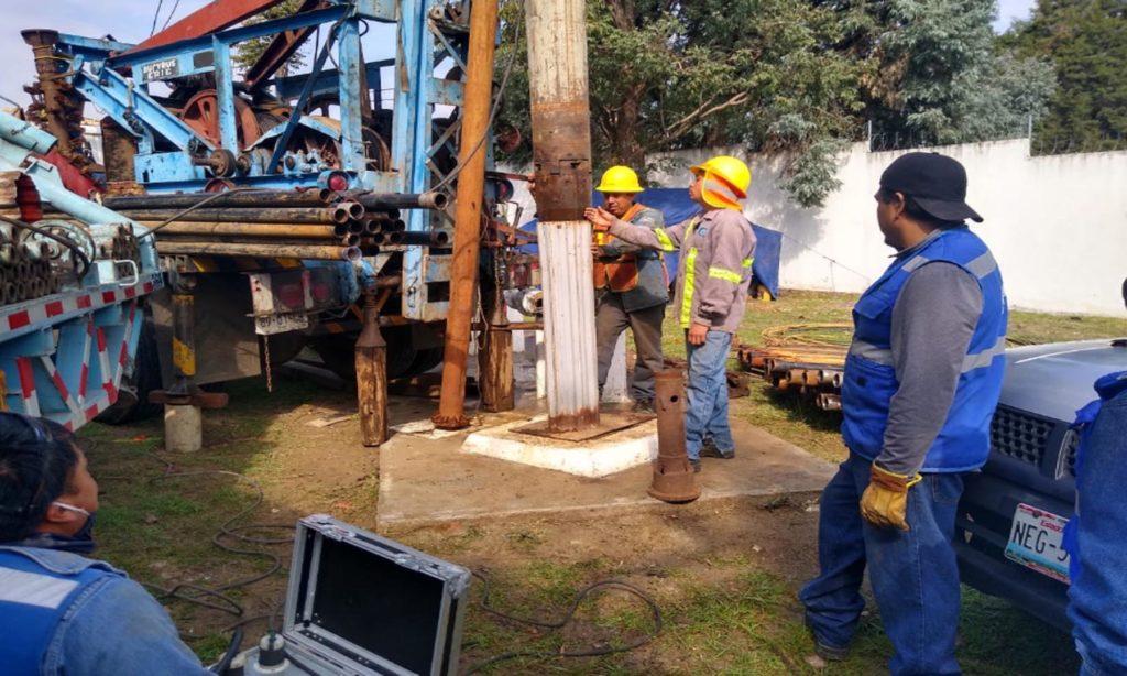 Agua de Puebla  Rehabilita el Pozo La Victoria