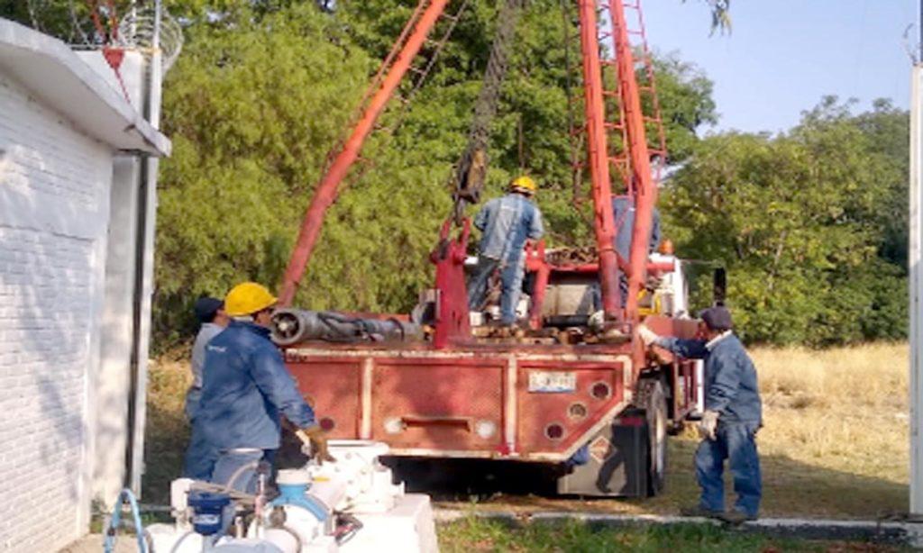 Agua de Puebla Rehabilita ahora El Pozo Barranca Honda 2,  para mejorar el abasto de agua en la ciudad