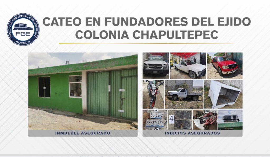 Fiscalía recuperó vehículos robados y autopartes en la capital