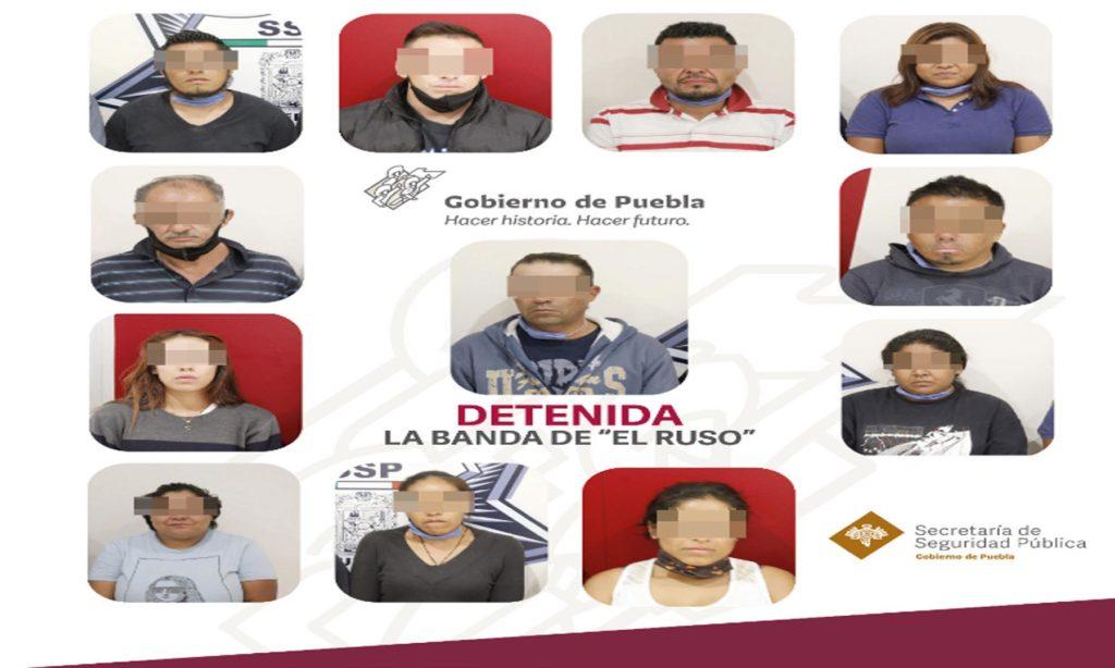 Captura SSP a banda dedicada a la falsificación de billetes