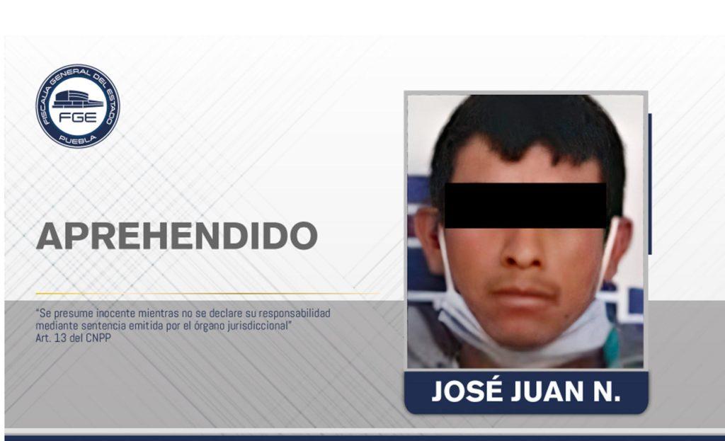Aprehendido por privar de la vida a un hombre en Tehuacán