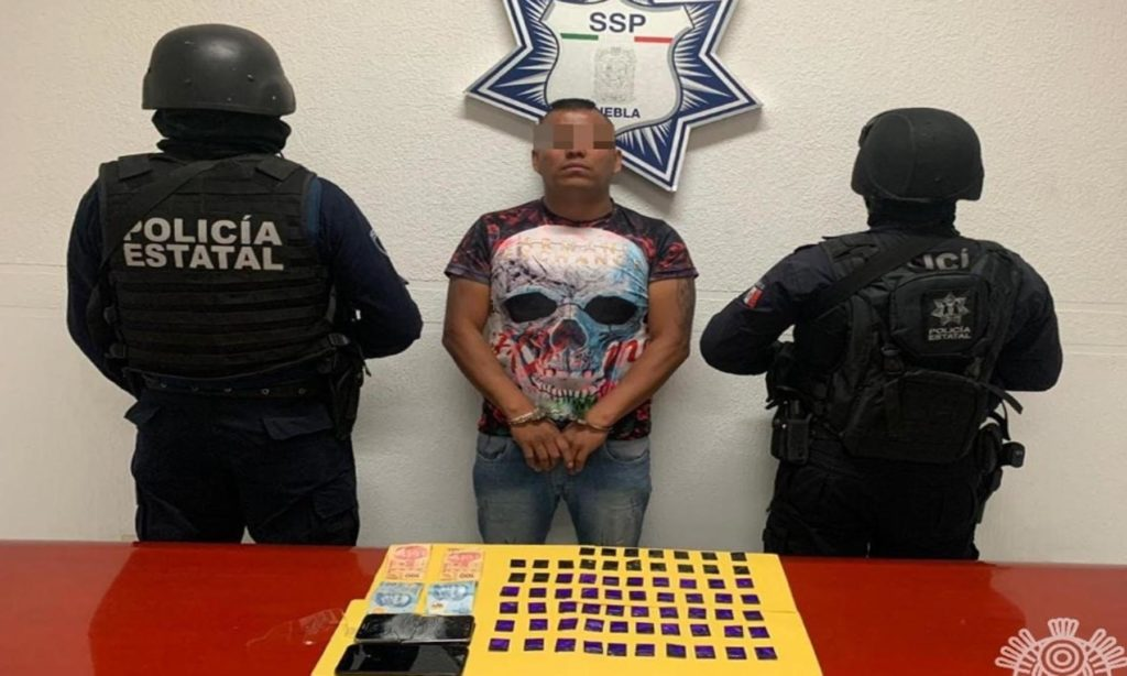"""Detiene SSP a presunto narcomenudista de la banda de """"El Grillo"""""""
