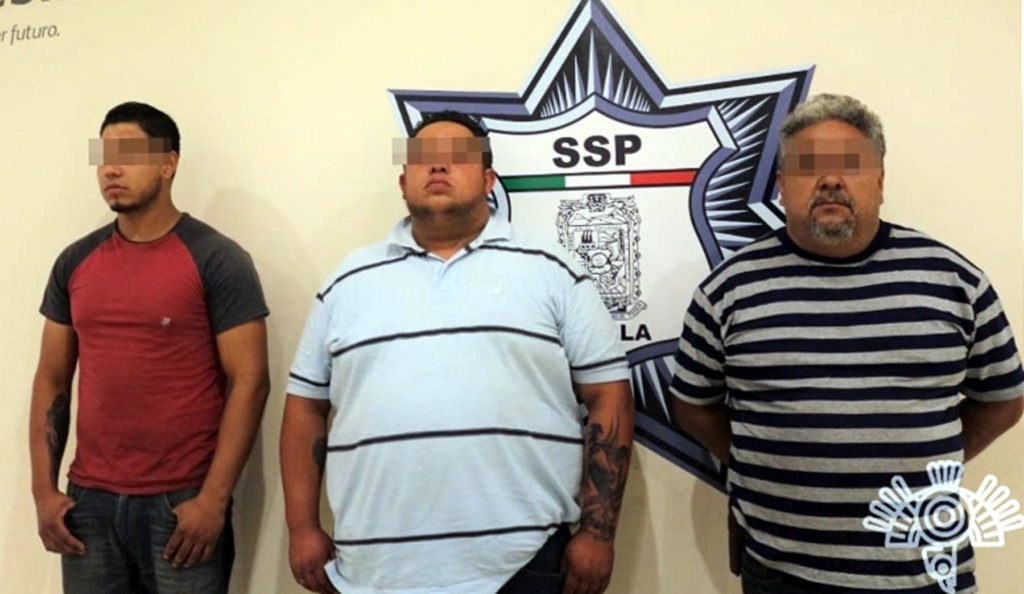 """Detiene SSP a """"Los Montana"""", familia dedicada al robo de vehículos"""