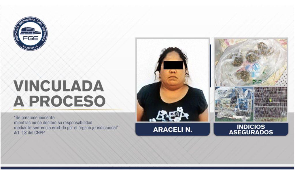 Vinculada a proceso mujer detenida durante cateo