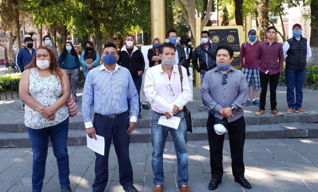 Organizaciones sociales condenan ataque del gobierno a la BUAP