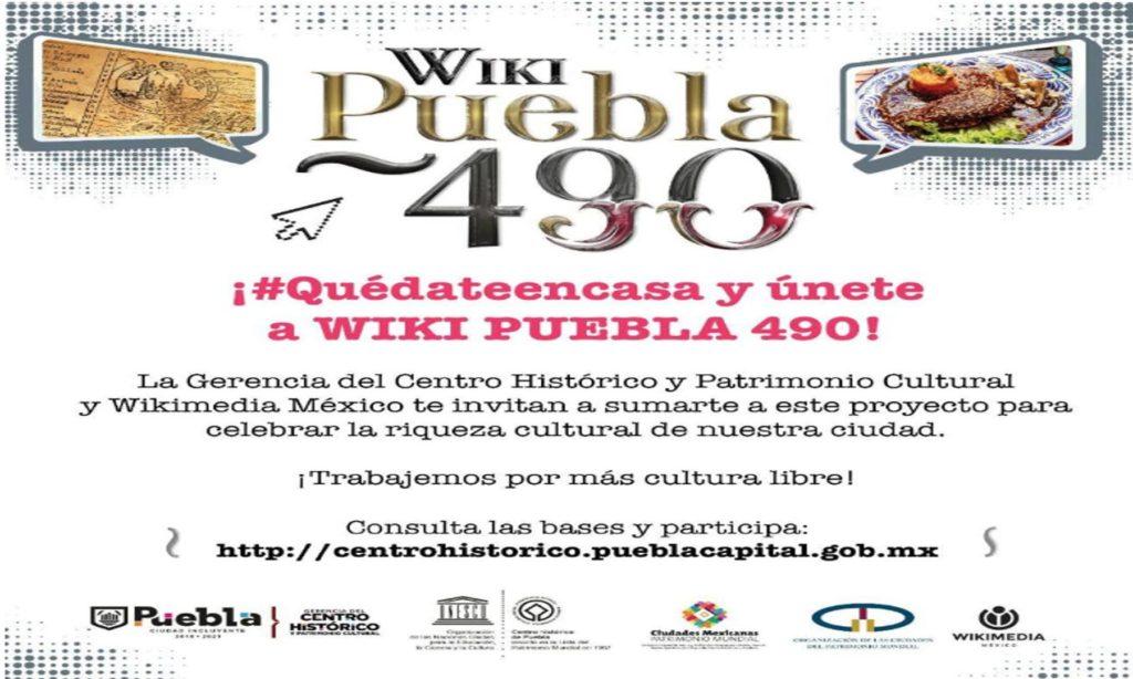 Gobierno de la Ciudad impulsa Wiki Puebla para celebrar 490 años de fundación