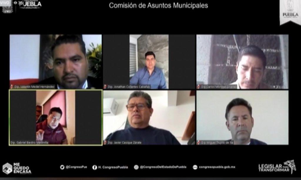 Comisión de Asuntos Municipales del Congreso del Estado aprobó Iniciativa para que ayuntamientos transmitan sesiones de Cabildo a través de medios electrónicos
