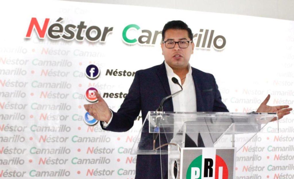 Confía Néstor Camarillo en lograr el consenso y la unidad al interior del PRI