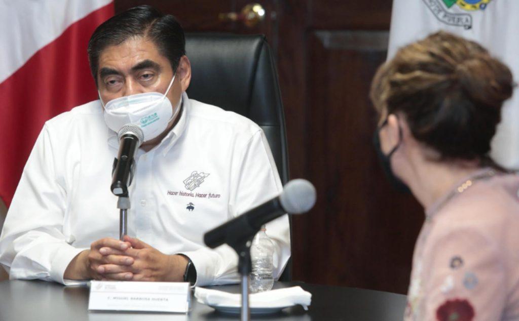 Barbosa reconoce que Puebla atraviesa por una situación complicada por el COVID-19