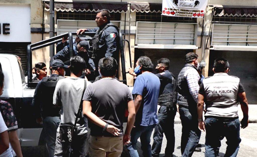 Fuerzas municipales aplican protocolos en vía pública para beneficio de la ciudadanía