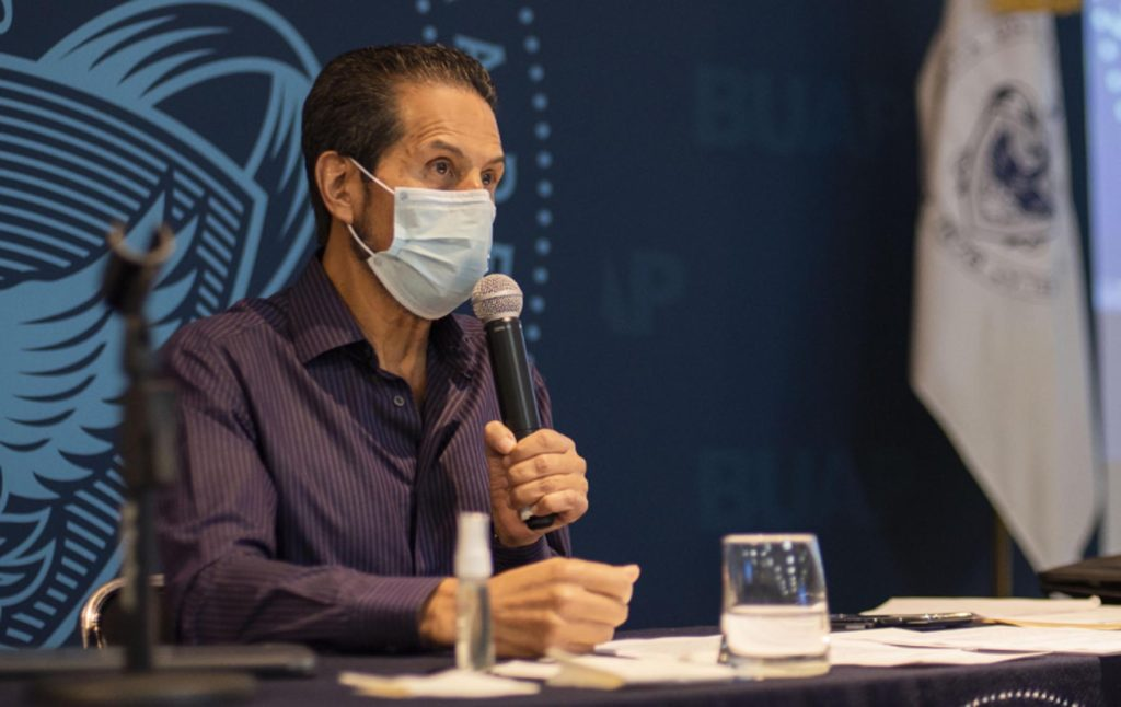 Impulsa Alfonso Esparza modelo innovador para el proceso de admisión 2020