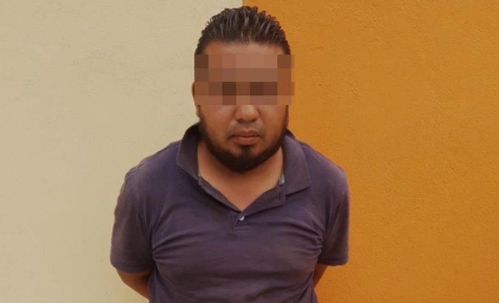 Captura Policía Estatal a un hombre en posesión de automóvil robado