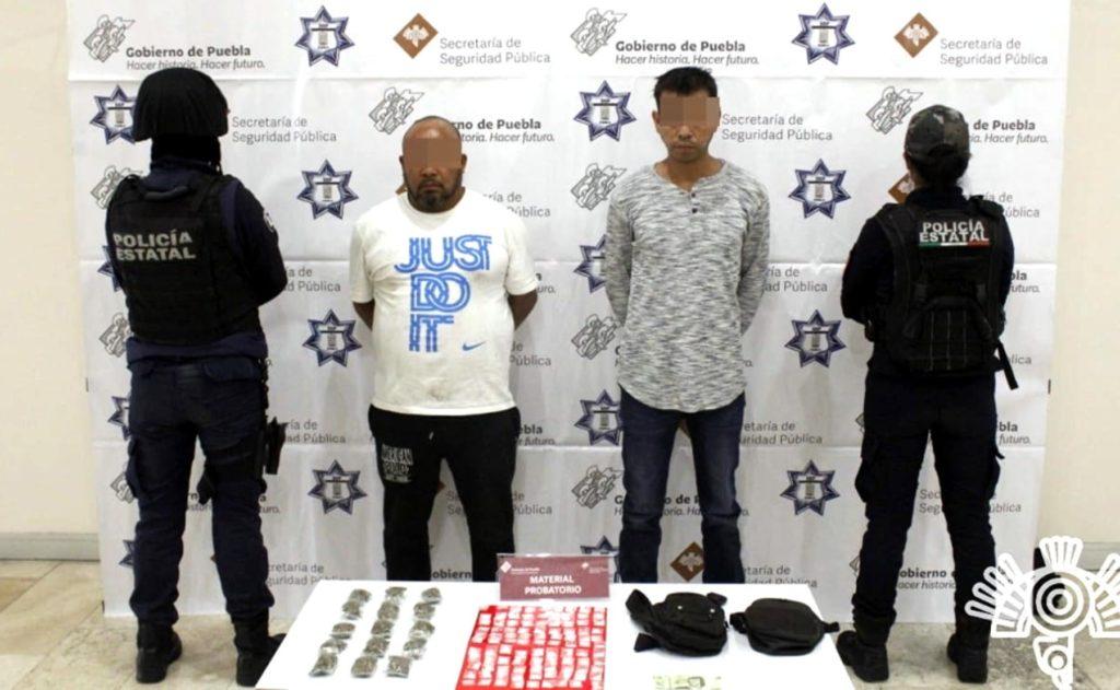 Detiene SSP a dos narcomenudistas en La Loma