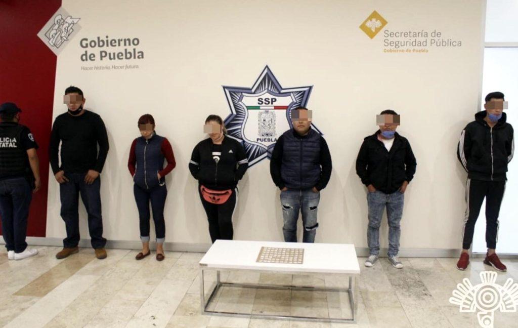 Detiene Policía Estatal a banda dedicada al robo en transporte público y narcomenudeo
