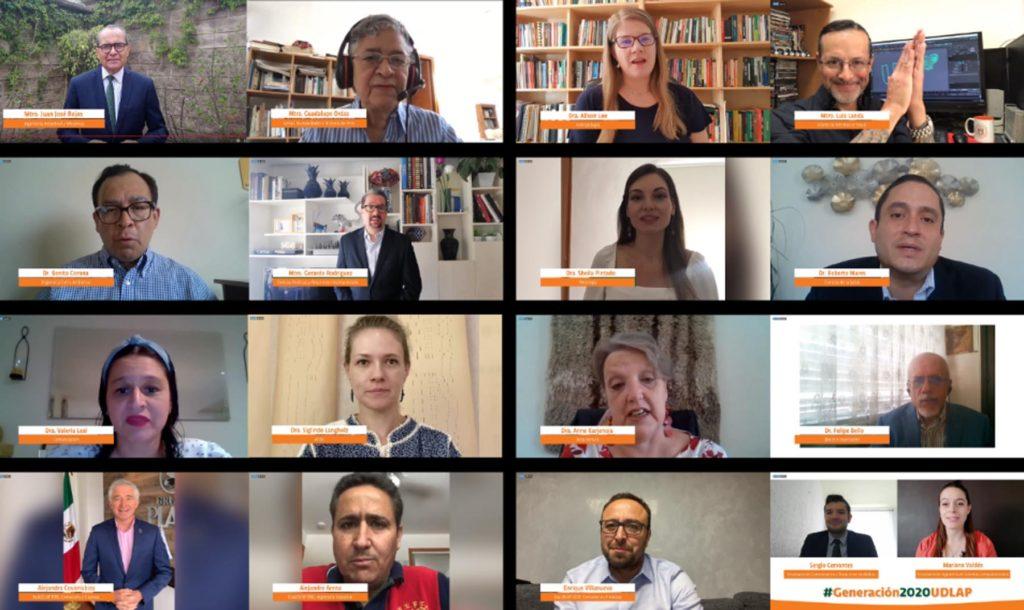 Festejan con encuentro virtual la culminación de sus estudios jóvenes UDLAP