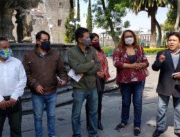 Sin obra pública denuncian pobladores de Coronango