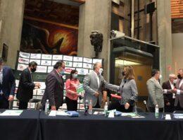 Anuncia CCE Puebla donación de 1 millón de cubrebocas y 10 mil litros de gel antibacterial