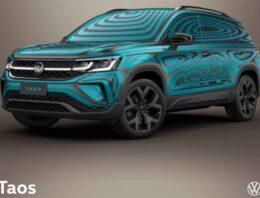 El Nuevo Volkswagen Taos da un adelanto de su imagen en camuflaje