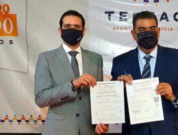Recibe Ayuntamiento de Tepeaca Certificados Antisoborno