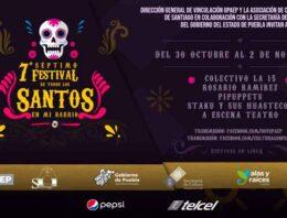 UPAEP festeja el séptimo Festival Todos Santos en mi Barrio