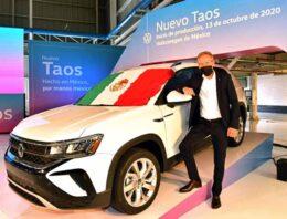 Volkswagen inicia la producción de Taos con lo que da comienzo a una nueva historia de éxito en México