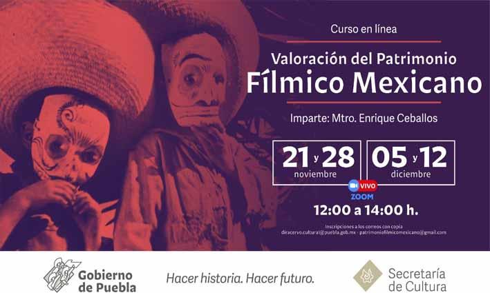 Ofrecerá Secretaría de Cultura curso de Patrimonio Fílmico Mexicano