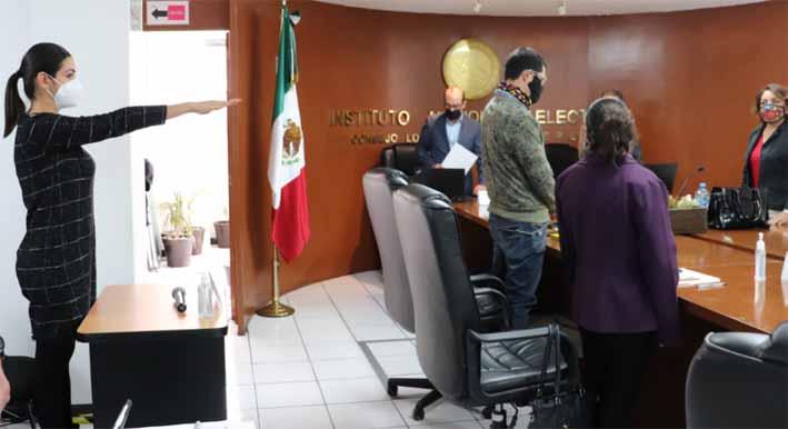 Designa consejo local del INE en Puebla consejeros   distritales para el proceso electoral 2020-2021