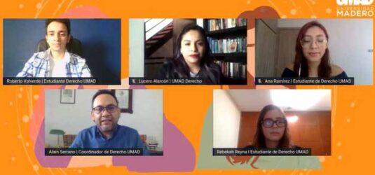 Derecho UMAD organizó charla sobre eliminación de violencia hacia la mujer