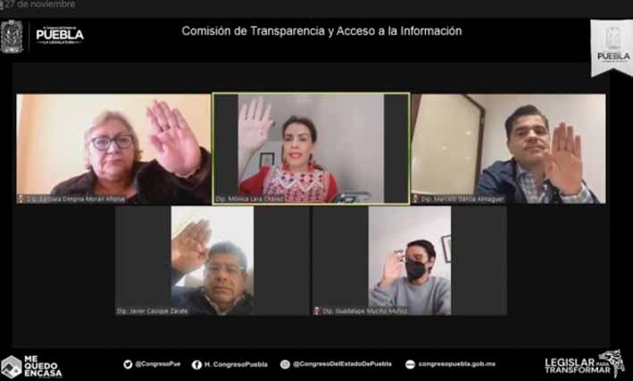 Aprueba Comisión de Transparencia, acuerdo para el desahogo de comparecencias de aspirantes al ITAIPUE