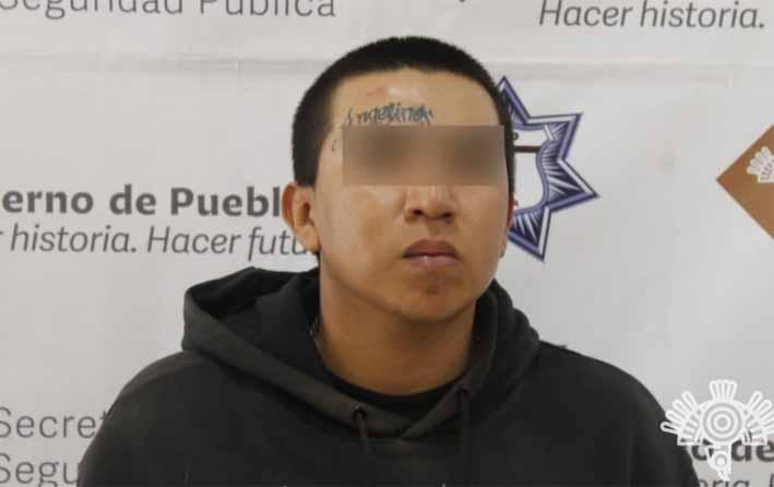 """Policía Estatal detiene a presunto integrante de """"Los Angelinos 13"""""""