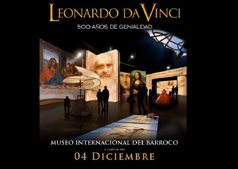 Leonardo da Vinci- 500 años de genialidad llega al Museo Internacional del Barroco