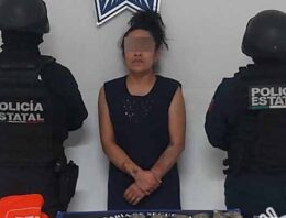 """Presunta operadora de """"La Patrona"""" es detenida por la Policía Estatal"""