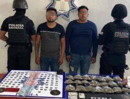 """Detiene Policía Estatal a dos presuntos integrantes de la banda """"Sureños Crazy Raiders"""""""
