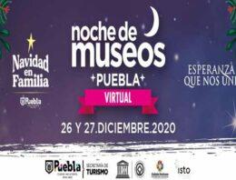 Invita Turismo Municipal a la doceava edición de Noche de Museos Virtual