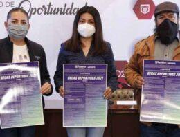 Presenta Ayuntamiento de Puebla convocatoria de Becas Deportivas 2021