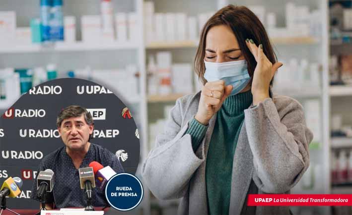 La gente debe abrigarse y seguir con los protocolos de salud sanitaria para evitar infecciones respiratorias