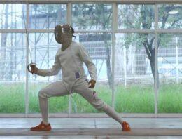 Busca el esgrimista poblano, Gibrán Zea, cumplir su sueño deportivo